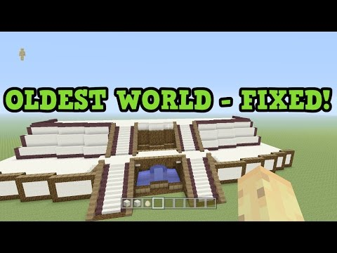 Minecraft Xbox One - MY FIRST WORLD IS FIXED! World Tour