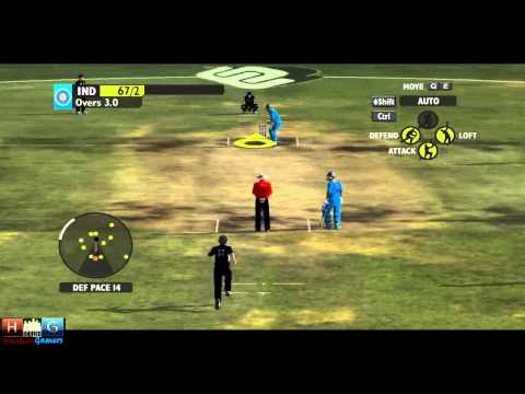 Ashes Cricket™ 2009 : India v/s New Zealand - 25 over ODI match Tournament (Episode #1)