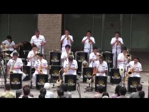 海上自衛隊・東京音楽隊 水曜コンサート 赤坂 [ノーカット] 【2014.9.10】Japan Maritime Self-Defense Force Musicians playing.