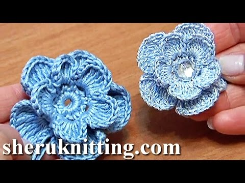 Crochet Flowers Patterns Youtube : hqdefault.jpg