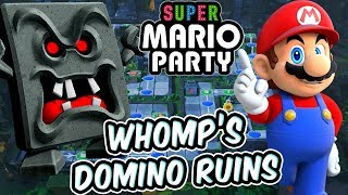 ABM: SUPER MARIO PARTY !! WHOMP'S DOMINO RUINS !! HD