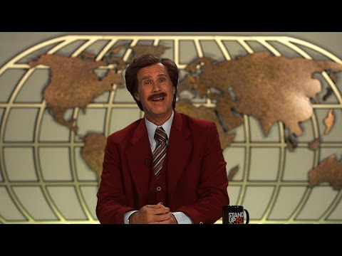 Ron Burgundy Stands Up To Cancer?