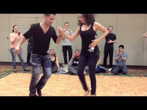 Dominican Bachata Dance - Ella Se Fue - El Tiguere & Hannah
