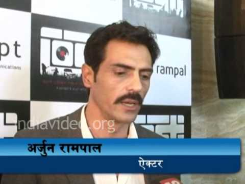 Arjun Rampal in the role of a police officer in Chakravyuh