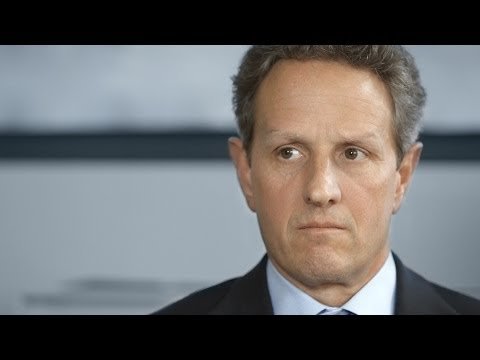 Timothy Geithner on the Great Recession