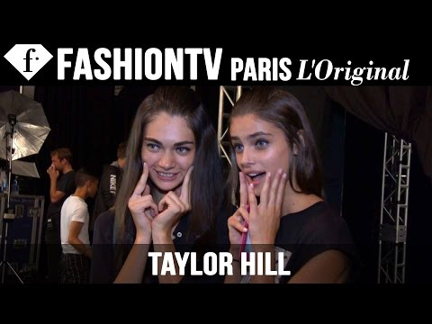 Model Taylor Hill | Beauty Trends For Spring summer 2015 | Fashiontv video