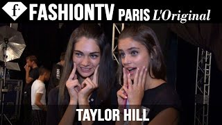 Model Taylor Hill | Beauty Trends for Spring/Summer 2015 | FashionTV