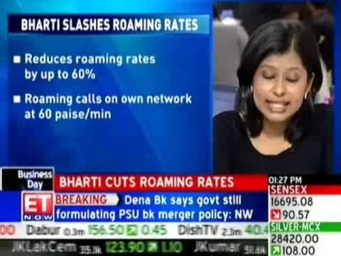 Bharti Airtel slashes mobile roaming charges