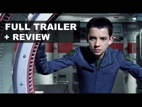 Ender's Game Official Trailer 2013 + Trailer Review - Asa Butterfield, Harrison Ford : HD PLUS