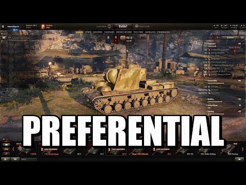 World of Tanks - Preferential