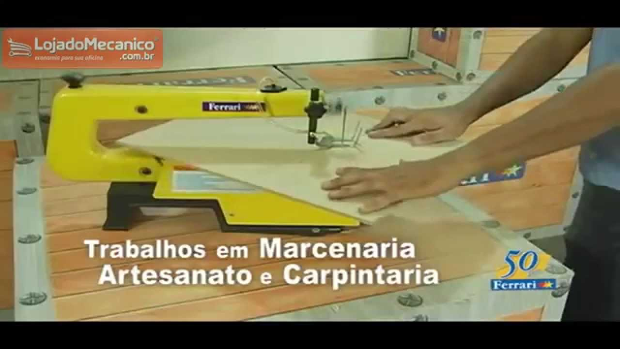 Tico Tico de Bancada Ferrari Serra Tico-tico de Bancada 1/6