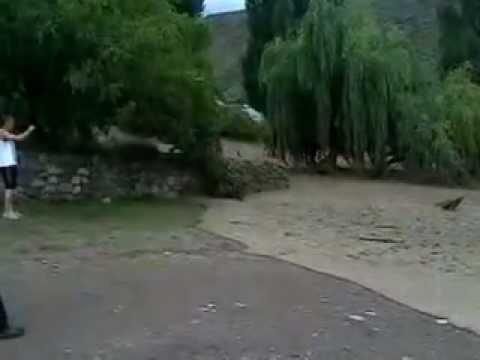 Alud 2 en Entrada a Valle del Sol - 07/02/2013 - Potrerillos - Luján - Mendoza -