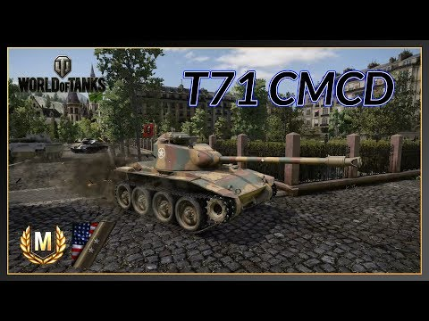 World of Tanks // T71 CMCD // Ace Tanker // 2 Marks of Excellence // Xbox One