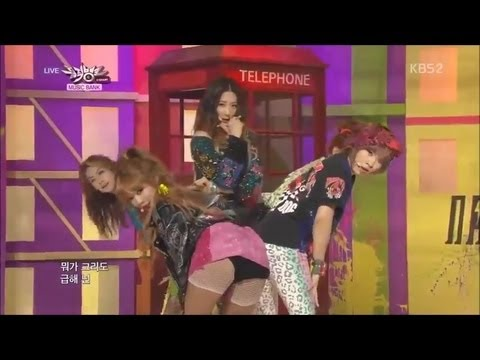 4Minute - 이름이 뭐예요? (What's Your Name?) live on Music Bank 13.04.26
