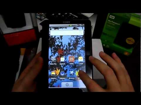 "Coby Kyros 7"" Android Tablet Review [MID7022]"