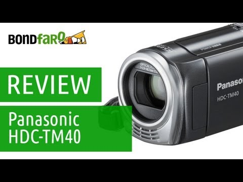 Filmadora Panasonic HDC-TM40 - Review