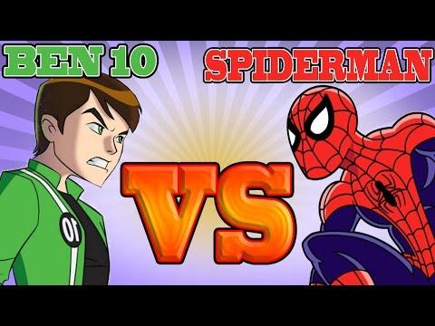 Ben 10 VS Spiderman