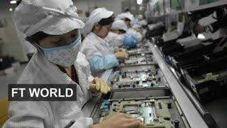 iPhone maker turns China's peasants into city dwellers