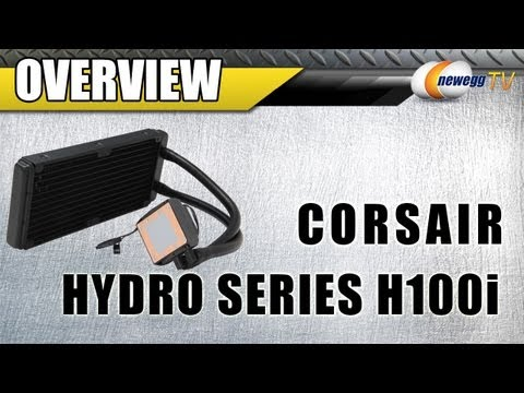 Newegg TV: CORSAIR Hydro Series H100i Water Cooler Overview
