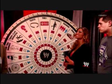 Wwe roulette wheel game