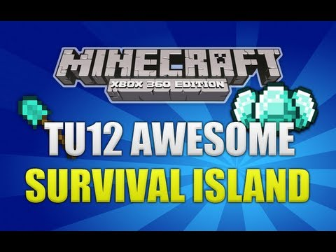Minecraft (Xbox 360) TU12 Epic Survival Island Seed *NEW* (Minecon 2013)