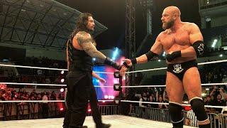 Download Roman Reigns earns Triple H's respect 3Gp Mp4