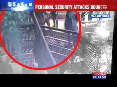 Delhi pub brawl Caught on tape