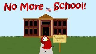 No More School! By V. Moua | children's books read aloud |