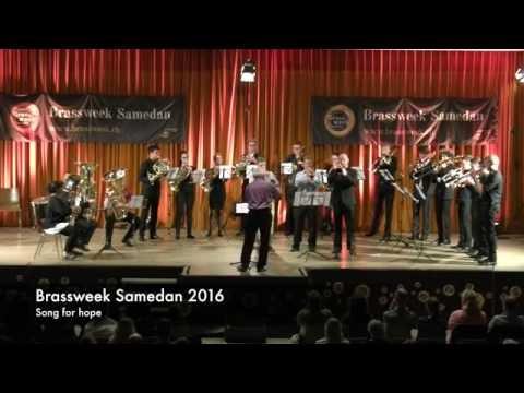 Song for  Hope  Peter Meechan Phil Cobb Adam Rappa Anton Ludwig Wilhalm  Leitung:  David LeClair