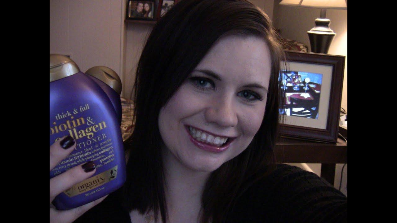 Organix thick amp full biotin amp collagen shampoo amp conditioner review