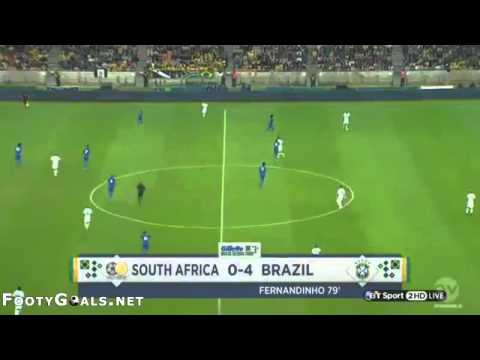 South Africa 0 5 Brazil   FootyGoals   Latest All Goals and Match Highlights