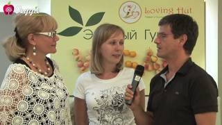 "VEGGIE CHANNEL в ""Loving Hut"""