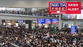 Protesters Shut Down Hong Kong Airport - LIVE BREAKING NEWS COVERAGE