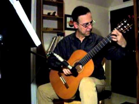 Rondo Opus 51 - Nr. 11 by Napoleon Coste played by Martin de Zuviria on the guitar