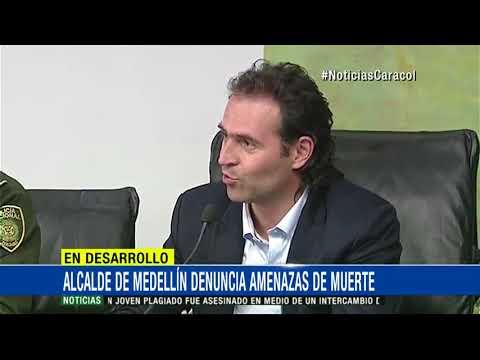Refuerzan seguridad del alcalde de Medellín