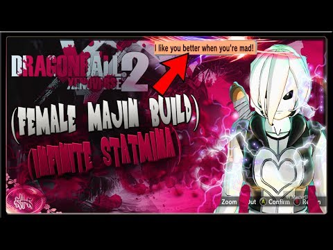 Xenoverse 2 Op Female Majin Build   Female Majin Infinite Stamina Xenoverse 2 Build!