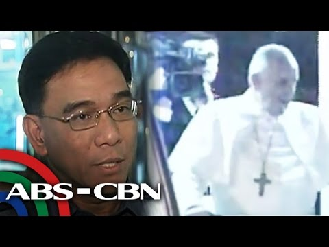 PNP: Pope Francis arrival motorcade a success
