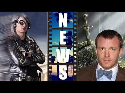 X-Men Days of Future Past Quicksilver, Guy Ritchie circles King Arthur - Beyond The Trailer