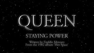 Watch Queen Staying Power video