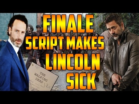 The Walking Dead's Andrew Lincoln Gets Sick After Reading Season 6 Finale Script!