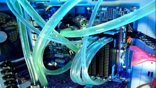 extreme water cooled pc 3.0 ghz  to 4.7ghz  top speed...