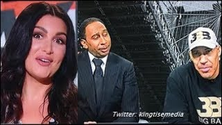 LaVar Ball Tells Molly Qerim She Can Get The D On First Take & ESPN Responds