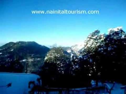 Nainital - Nainital Tourism - Nainital Snowfall 2013 - 2014 - Snowfall Nainital Tour