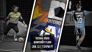 Tacoma Stars vs Monterrey Flash
