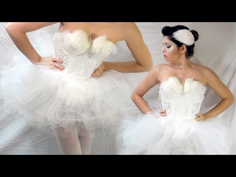 Diy Halloween Costumes Black Swan Swan Halloween Costume
