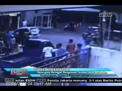 [ANTV] TOPIK, Polisi Tanpa Seragam Dikeroyok Gara-gara Peringati Pengemudi
