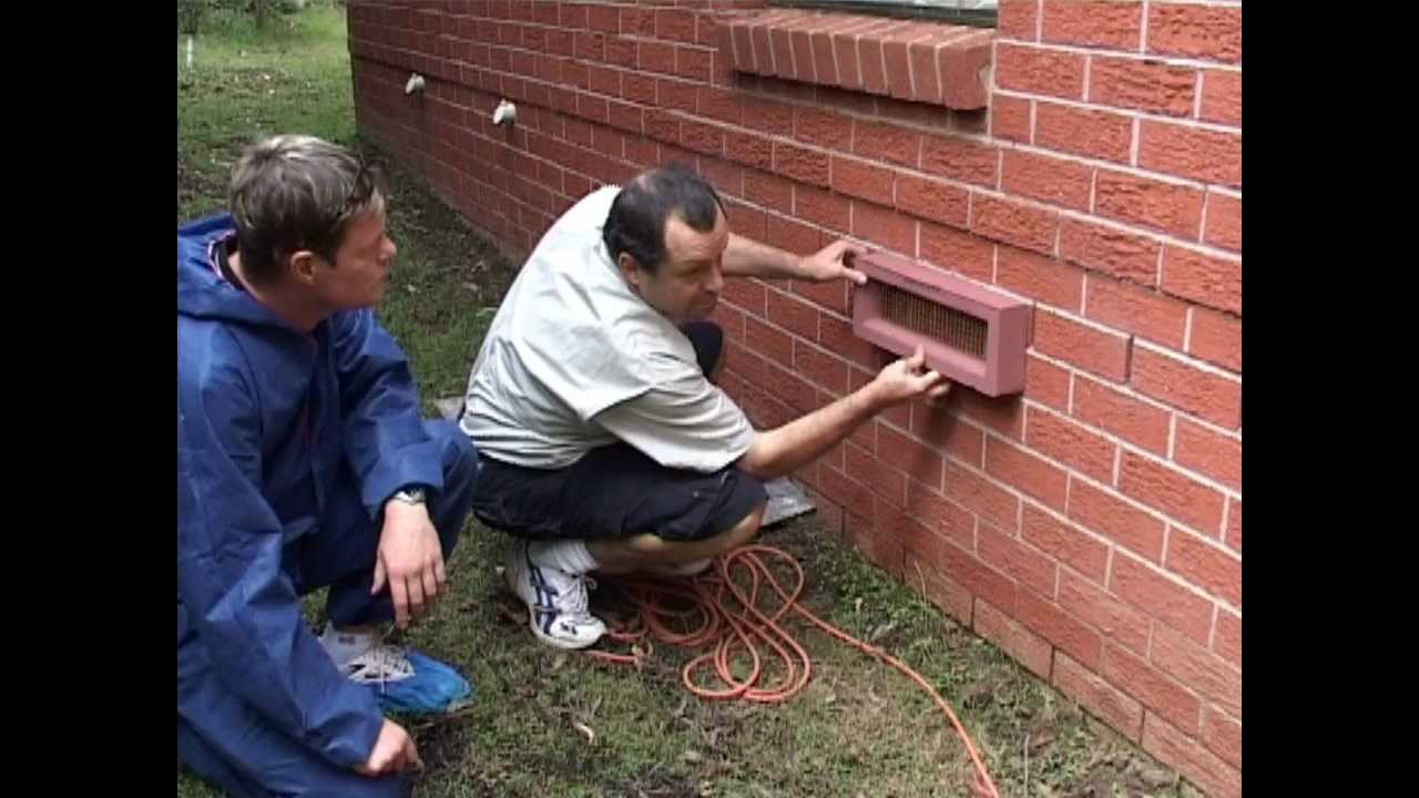 Sub floor house ventilation systems sydney youtube for How to level a house