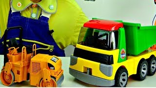 Clown Funny Videos for children 🤡 🚗 Toy Car Clown Andrew House Construction on #FunnyClownVideos