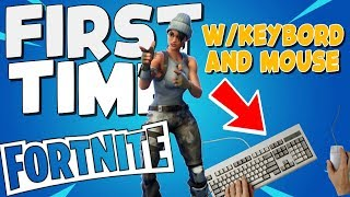 PLAYING WITH KEYBOARD FOR THE FIRST TIME | FORTNITE (RAGE)