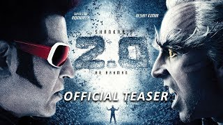 2.0 Movie Teaser Release Date | Rajinikanth, Akshay Kumar | Shankar | A.R. Rahman